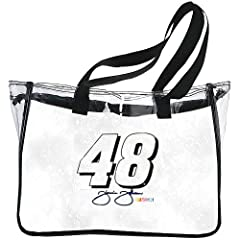 NASCAR Jimmie Johnson Clear Tote by R R Imports