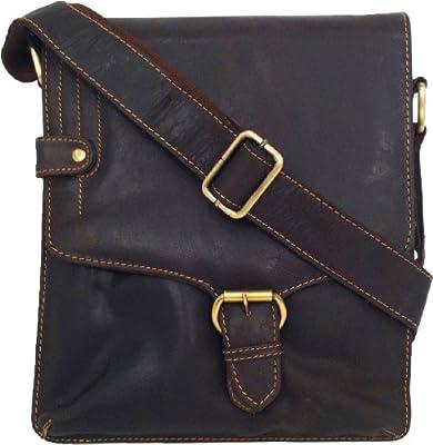 Unicorn Leather Brown ipad , Ebook or Tablets bag Messenger #4M