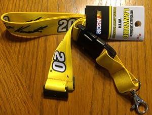 Matt Kenseth #20 2-Sided Breakaway Lanyard w Detachable J-Hook Nascar Racing by aminco