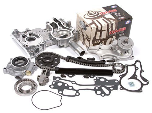 Evergreen TCK2000WOP 85-94 Toyota 22R 22RE 22REC Timing Chain Kit w/ Timing Cover, Water Pump & Oil Pump (Timing Chain Toyota Celica compare prices)