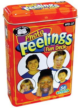 Photo Feelings Fun Deck Cards - Super Duper Educational Learning Toy for Kids