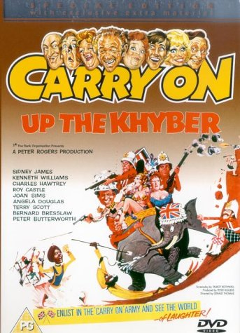 51196F9PRBL Top 20 British War Films   3 Carry on up the Kyhber