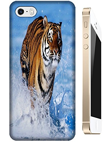 Tiger Case Cover Hard Back Cases Beautiful Nice Cute Animal Hot Selling Cell Phone Cases For Apple Accessories Iphone 4/4S # 22