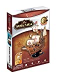 Santa Maria Ship Pilgrimage to the United States 3D Puzzle. Home/Office Decor... (japan import)...