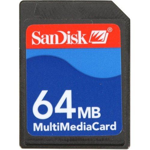 SanDisk SDMB-64-A10 MultimediaCard 64 MBB00006B9QR