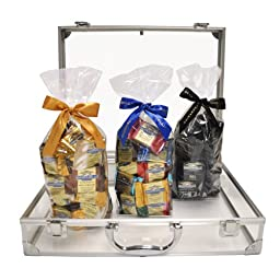 Ghirardelli Chocolate Attaché Case with SQUARES Chocolates
