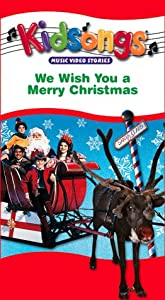 Kidsongs - We Wish You A Merry Christmas Vhs by Image Entertainment
