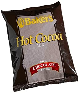Baker's Hot Cocoa Mix, Rich Chocolate Flavor, 32-Ounce Packages (Pack of 12)