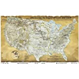 Lewis and Clark Map, the Corps of Discovery Fine Art Poster