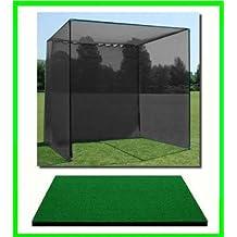 Golf Mat Golf Net Cage 10 X10 X10 Golf Net Golf Cage And 4 X5 Commercial Golf Mat. Our Dura-Pro 10 D X 10 H X10...