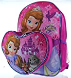 Sofia the First 15 Backpack with Lunch Bag