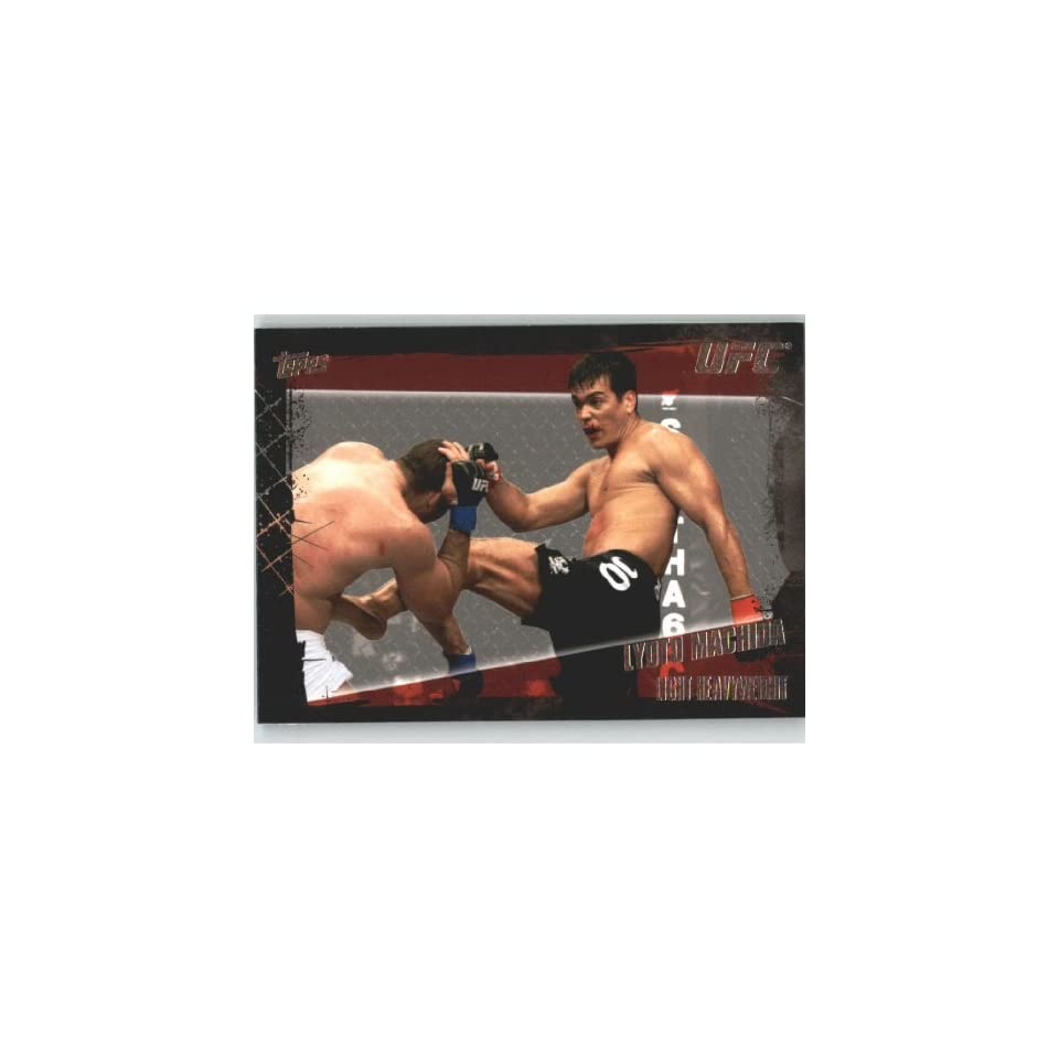 2010 Topps UFC Trading Card # 59 Lyoto Machida (Ultimate Fighting