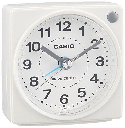 カシオ コンパクトサイズ電波時計 TQ-750J-7JF