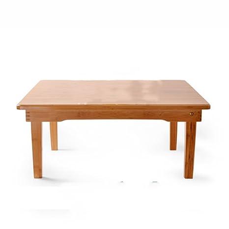 Tabla plegable / tabla de Kang / tabla pequeña de la tabla / tabla baja / tabla de madera sólida (tamaño opcional) ( Tamaño : 60*60*28cm )