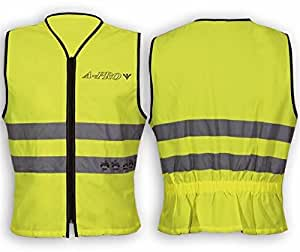 Motorcycle Apparel Scooter Quad Gilet High Visibility XL: Automotive
