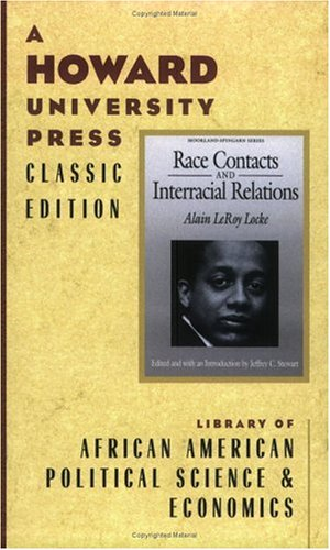 Alain Locke: Race Contacts and International Relations