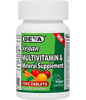 Deva Vegan Multivitamin, Mineral Supplement, Tiny Tablets