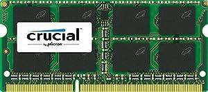 Crucial 8GB Single DDR3L 1600 MT/s (PC3-12800) CL11 SODIMM 204-Pin 1.35V/1.5V Notebook Memory CT102464BF160B