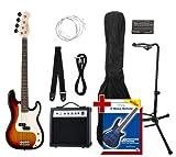 Rocktile Groover's Pack PB E-Bass Set II Sunburst Groover's Pack