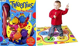 Tweenies Play to the Music with Dance Mat & Microphone