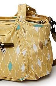 Kids Line Carryall Diaper Bag, Maiz Harlequin Print (Discontinued by Manufacturer)