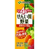 伊藤園 せんい質野菜 200ml×24本