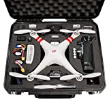 Go Professional Cases DJI Phantom 1 Case for Quadcopter and GoPro Cameras