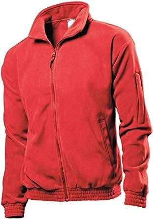 Stedman ST5000 Fleece Jacket Scarlet Red S