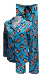 Paul Frank Julius Blue Micro Polar Fleece Pajamas for women