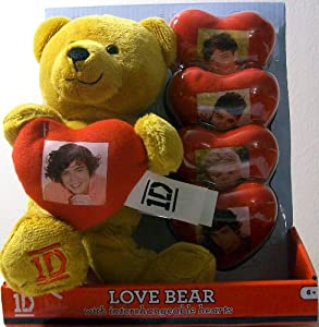 One Direction 9 Inch Collectible Bear For Valentines Day from i-Star Entertainment