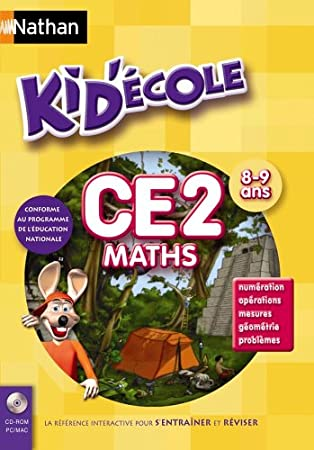 Kid Ecole CE2 Maths