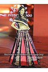 Designer PINK SILK GORGET Bollywood Replica Lehenga Choli.