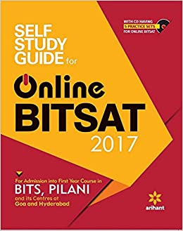 Self Study Guide for Online BITSAT 2017 by Arihant Experts