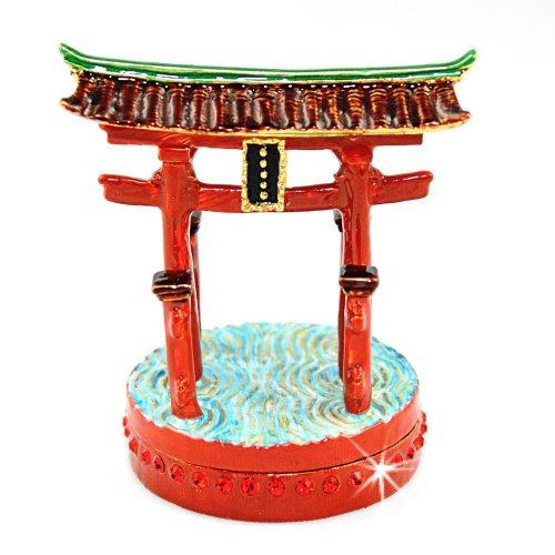 Objet D'Art トリンケットボックス リリースNo102「Island Shrine」厳島神社の鳥居の宝石箱