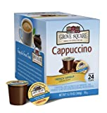 Grove Square Cappuccino, French Vanilla, 24-Count Single Serve Cup for Keurig K-Cup Brewers