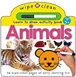 Animals: Learn to draw activity book (Wipe Clean)