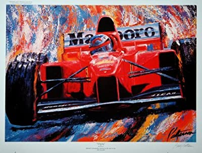Schumy- Michael Schumacher Formula One Press Proof Racing Print