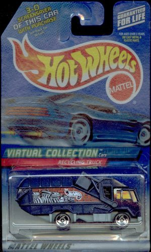 Hot Wheels 2000-143 Recycling Truck Virtual Collection 1:64 Scale