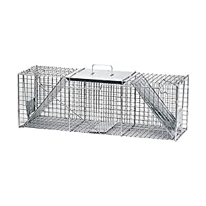 Havahart Live Animal Trap 36 In. X 11 In. X 11 In. For Raccoons, Woodchucks, Oppossum