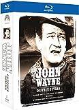 John Wayne - Coffret 3 films - True Grit, 100$ pour un shérif + Hondo + L'homme qui tua Liberty Valance [Blu-ray]