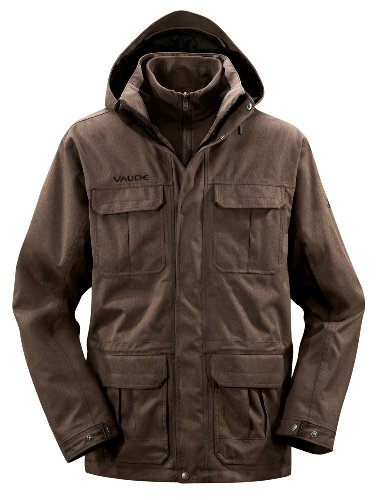 Vaude Lhasa Mens Jacket - XL, Coffee