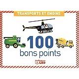 Boîtes de 100 bons points - transports et engins - Dès 5ans