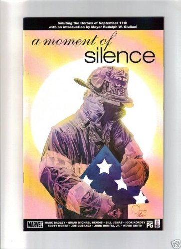A MOMENT OF SILENCE COMIC BOOK - 1