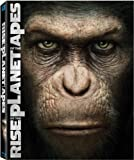 Cover art for  Rise of the Planet of the Apes (Two-Disc Edition Blu Ray + DVD/Digital Copy Combo) [Blu-ray]