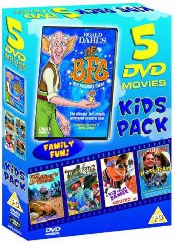Bfg/Gulliver's Travels/Titanic/Kid Called Danger/Home Team [DVD]