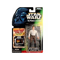 HAN SOLO IN CARBONITE WITH CARBONITE BLOCK & FREEZE FRAME ACTION SLIDE Star Wars 1998 The Power of the Force Action Figure