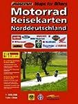 RV Motorad-Reisekarten 1:300 000 Nord...