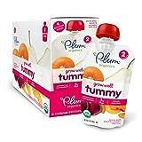 Plum Organics Baby Grow Well Food, Prune/Pear/Peach/Pumpkin with Chia Puree, 3.5 Ounce (Pack of 12)