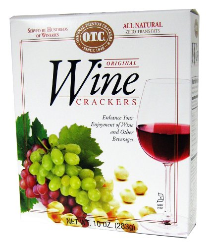 O.T.C. Wine Crackers, 10-Ounce Boxes (Pack of