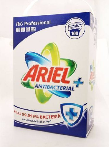 JUMBO ARIEL ANTIBACTERIAL + 100 WASHES =8KG - 100 WASHES